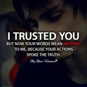 Trust Broken Favorite Credited