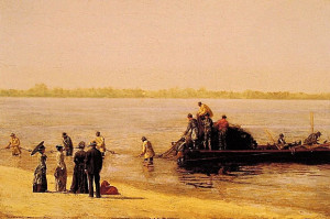 Middle Colonies Farming Life Thomas cowperthwait eakins was