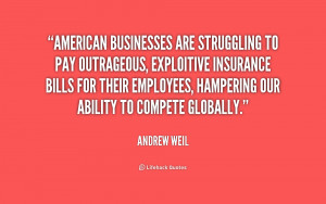 American businesses are struggling to pay outrageous, exploitive ...