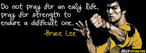 Bruce Lee Quotes Facebook Cover