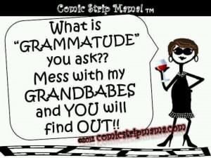 Grandma funny attitude