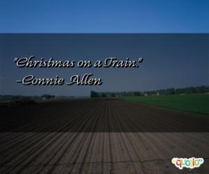 Christmas on a Train .