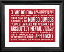 Want it. DAVID BRENT - THE OFFICE QUOTES PRINT (A3)