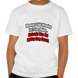 Lung Cancer Quote Shirt