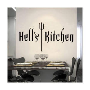 Hell's Kitchen WALL STICKER QUOTE ART DECAL