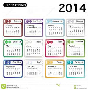 Natural Birthstones Month