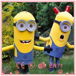 HI hot sale despicable me 2 minion mascot costume ,adult minion ...