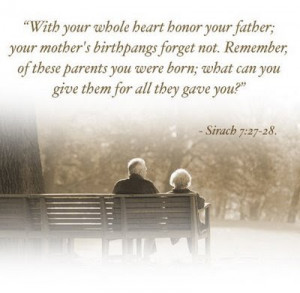 honor your father and your mother the first three commandments help us ...