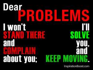Solve Problems Quote