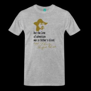 quotes adventure william f cody buffalo bill quotes t shirt