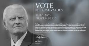 Values voting - a political sham.