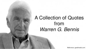 Collection of Quotes from Warren G. Bennis