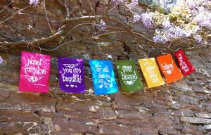 Home Fairy Gifts fairylove prayer flags Rainbow Fairylove prayer flags