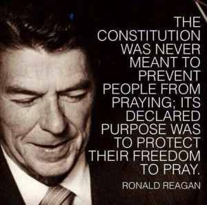 Ronald Reagan quotes. The Constitution of the USA declared purpose was ...