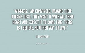 Joe Montana Motivational Quotes