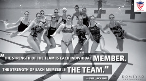 ... member. The strength of each member is the team.