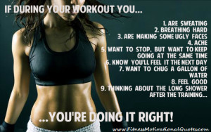 Motivational Quotes About Working Out