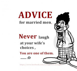 Advice for Married Men!