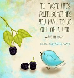 Life's fruit quote and illustration via www.Facebook.com/... More