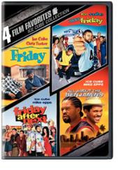 Ice Cube Collection: 4 Film Favorites (DVD) ~ Ice Cube (actor) Cover ...