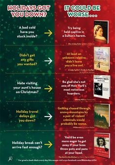 ... It could always be worse! Happy Holidays from the Bloomsbury USA Team