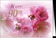 90th Birthday Cake Clipart Happy 90th birthday card