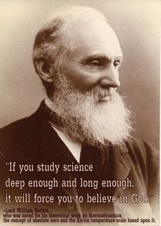 Lord William Kelvin quote More