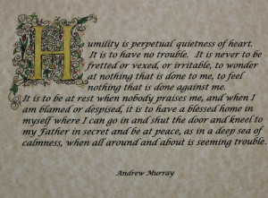 One of my favorite Andrew Murray quotes.