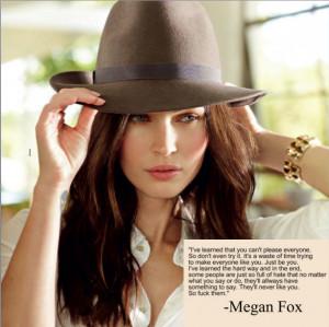 megan fox quotes on love