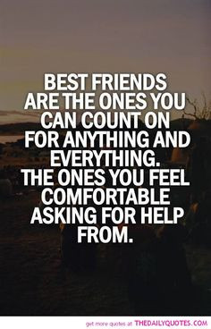 The truth about best friends