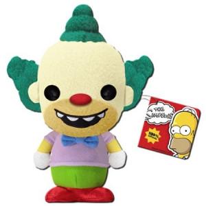Krusty The Clown Simpsons Keychain