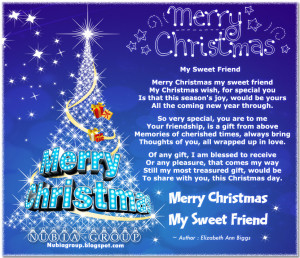 Merry Christmas Quotes Friendship ~ Merry Christmas Quotes For Friends ...