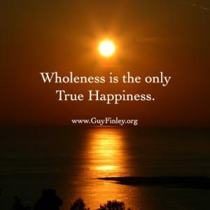 Wholeness www.guyfinley.org