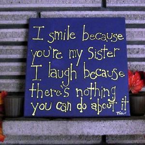 Cute Sister Saying