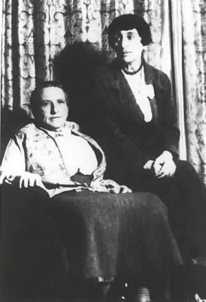 Alice B Toklas and Gertrude Stein
