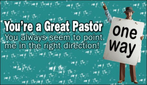 You're A Great Pastor Ecard