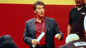 Al Pacino gives his epic pre-game speech as coach Tony D'Amato in Any ...