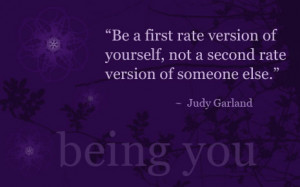 being yourself (2)