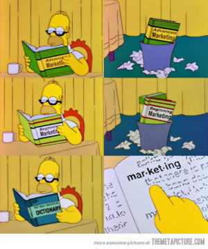 Funny photos funny Homer reading book