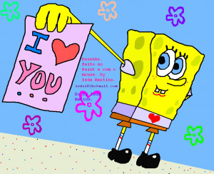 love lt3 love is in the air spongebob and spongebob loves you back ...