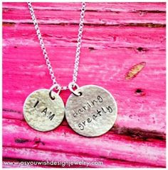 We love this #DaringGreatly necklace. A nice daily reminder. More