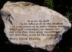 The Quotable Henry David Thoreau