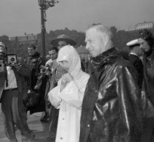 Princess Margaret visiting Niagara Falls