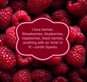 love berries. Strawberries, blueberries, raspberries, black berries ...