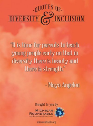 Quotes of Diversity and Inclusion from Michigan RoundtableQuote