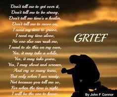 Grief #Loss #Poem ♥ InspirationAndGratitude.com: Prayers for healing ...