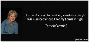 More Patricia Cornwell Quotes