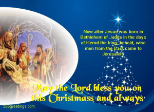 Christmas Religious Greeting Cards & Merry Christmas Wishes Sayings ...