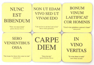 Latin Quotes About Life And Death: The Latin Club Sayings About Carpe ...