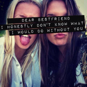 Girls Teen Best Friend Quotes